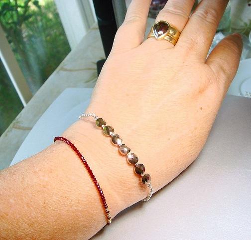 rose gold bracelet rose gold crystal bracelet delicate minimalist bracelet