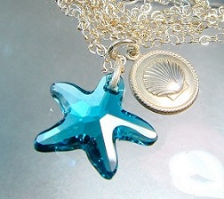 Starfish Crystal Jewelry Beach Jewelry