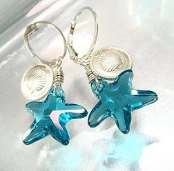 Starfish Jewelry Swarovski Crystal